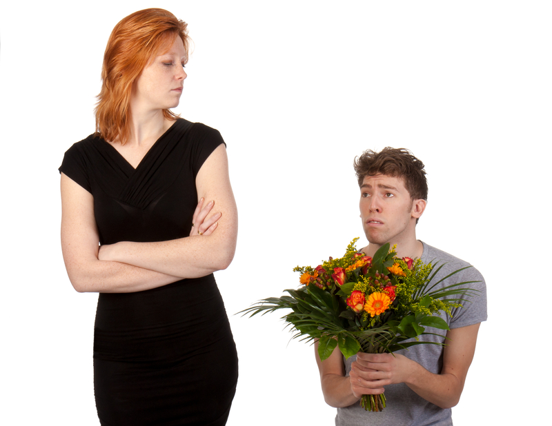 how to respond to an upset girlfriend