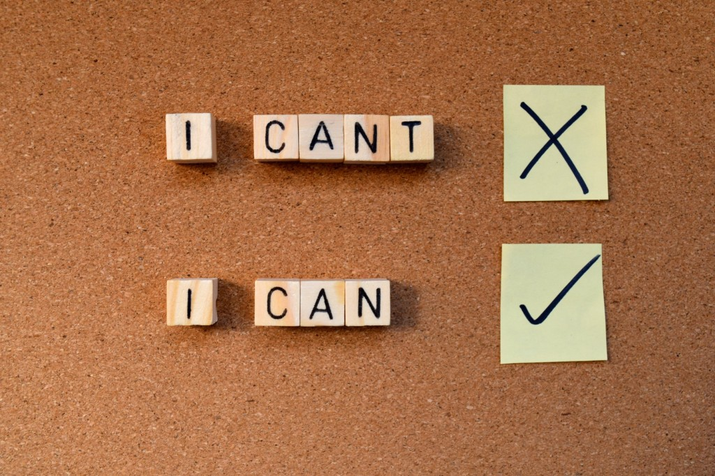 motivational concept- I can