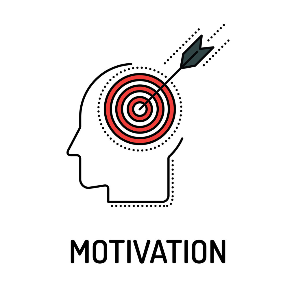 MOTIVATION Line icon